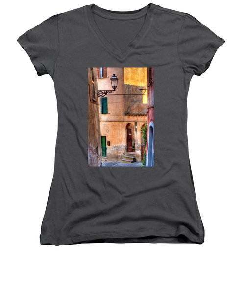 Italian Alley Women's V-Neck T-Shirt
