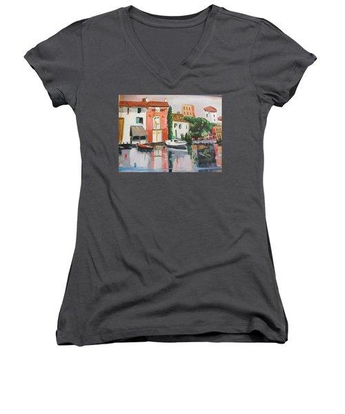 Italian Marina Women's V-Neck T-Shirt