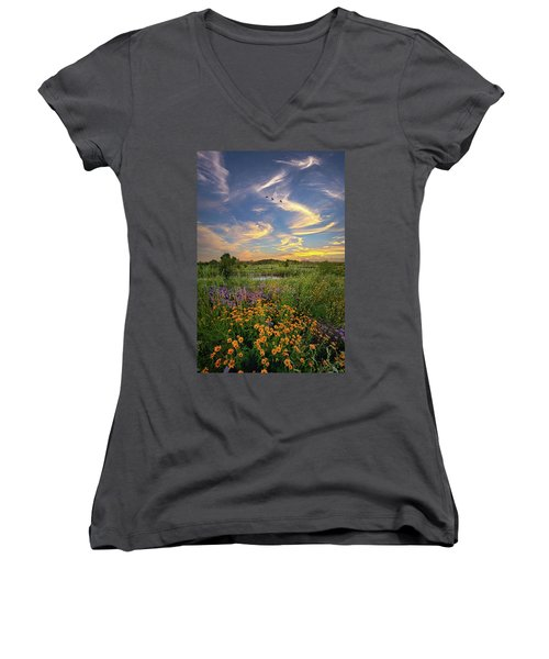 It's Time To Relax Women's V-Neck