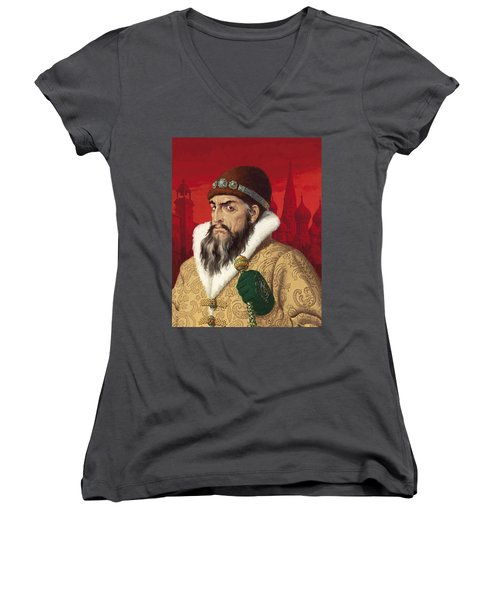 Ivan The Terrible Women's V-Neck (Athletic Fit)