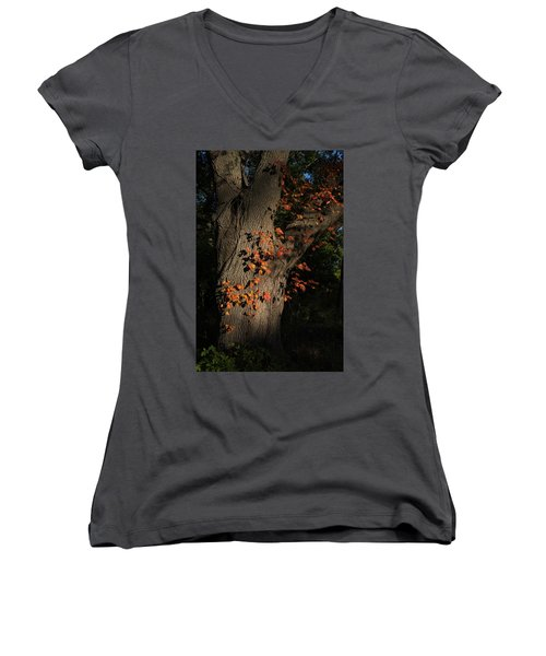 Ivy In The Fall Women's V-Neck