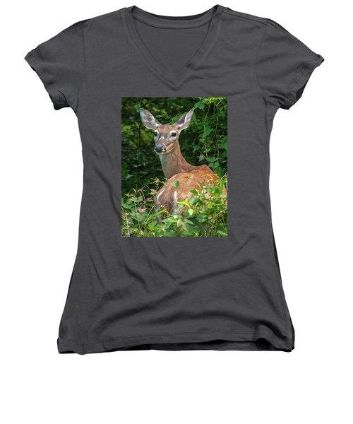 Ivy League Doe Women's V-Neck T-Shirt