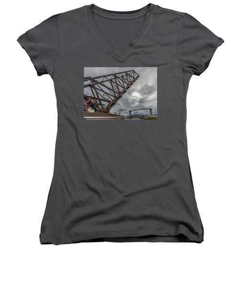 Jackknife Bridge To The Clouds Women's V-Neck