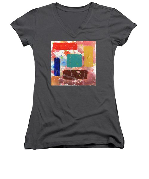 Jacksonville Women's V-Neck T-Shirt (Junior Cut)