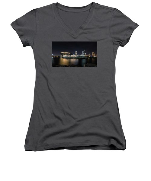 Jamaica Bay Women's V-Neck T-Shirt