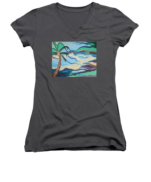 Jamaican Sea Breeze Women's V-Neck