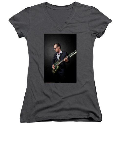 Joe Bonamassa Women's V-Neck