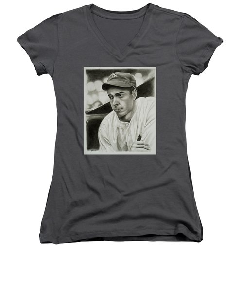 Joe Dimaggio Women's V-Neck (Athletic Fit)
