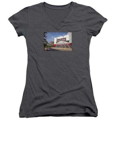 Joe Louis Arena Detroit  Women's V-Neck T-Shirt
