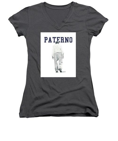Joe Paterno Women's V-Neck T-Shirt