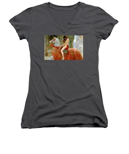Lady Godiva Women's V-Neck (Athletic Fit)
