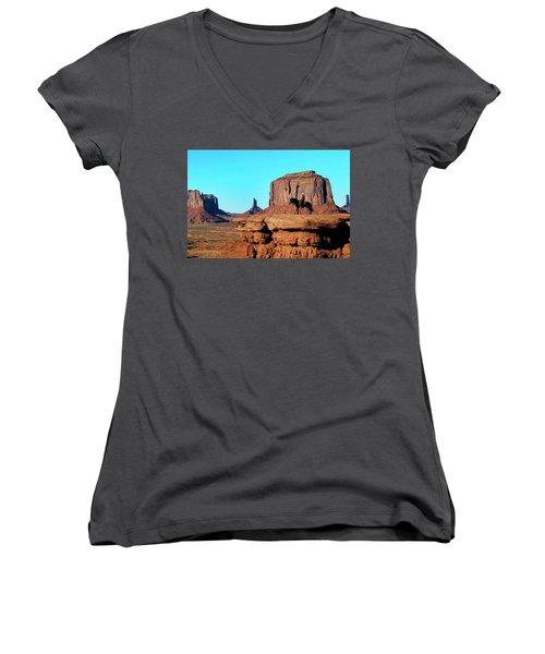 John Ford's Point Women's V-Neck T-Shirt
