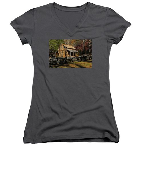 John Oliver Place Women's V-Neck T-Shirt