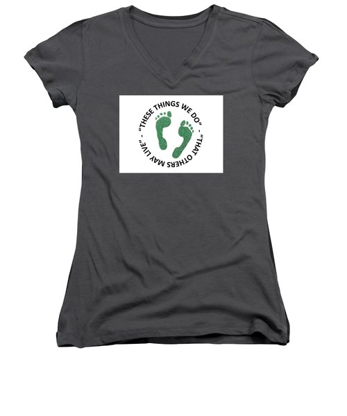 Jolly Green Women's V-Neck (Athletic Fit)