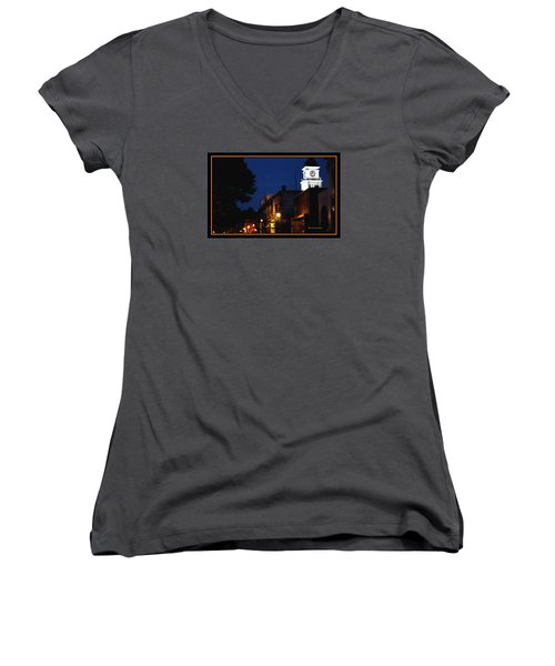 Joneborough Tennessee 11 Women's V-Neck T-Shirt (Junior Cut) by Steven Lebron Langston