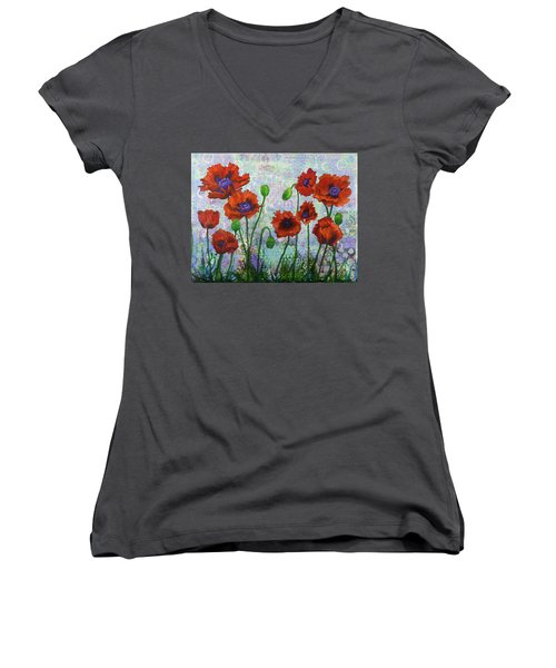 Journey Through Oz Women's V-Neck