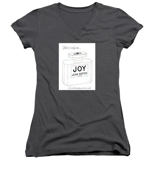 Women's V-Neck (Athletic Fit) featuring the digital art There Is Only One... by ReInVintaged
