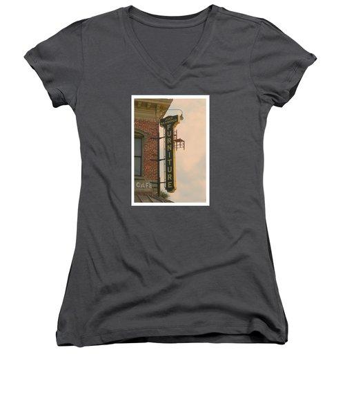 Juan's Furniture Store Women's V-Neck T-Shirt