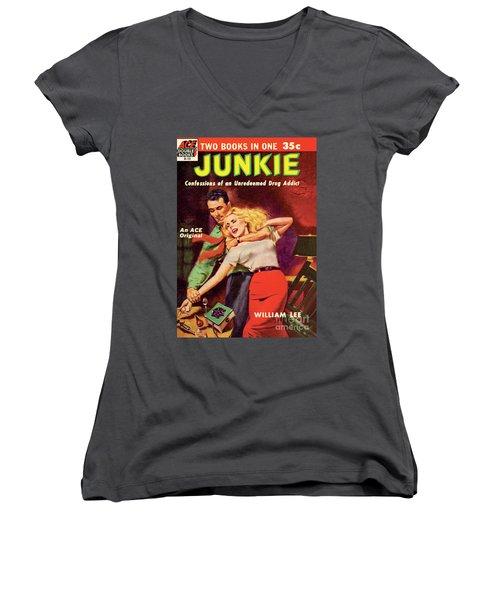 Junkie Women's V-Neck T-Shirt