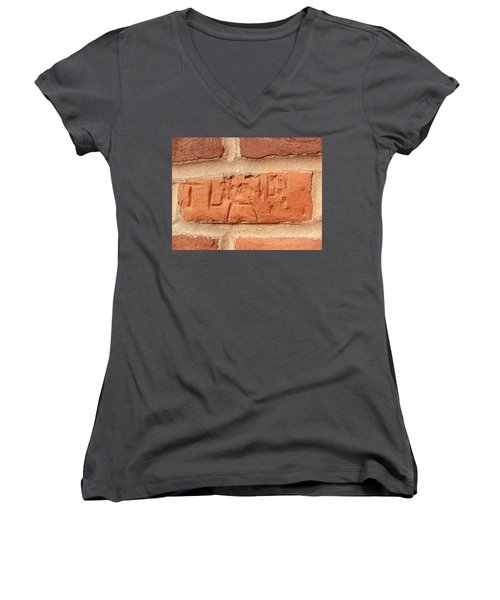 Just Another Brick In The Wall Women's V-Neck