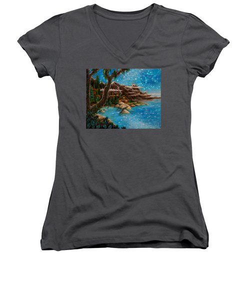 Just Before Dawn Women's V-Neck T-Shirt
