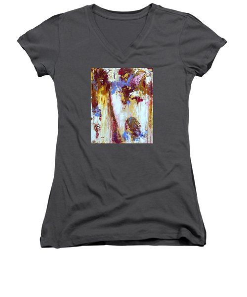 Just Breathe Women's V-Neck (Athletic Fit)