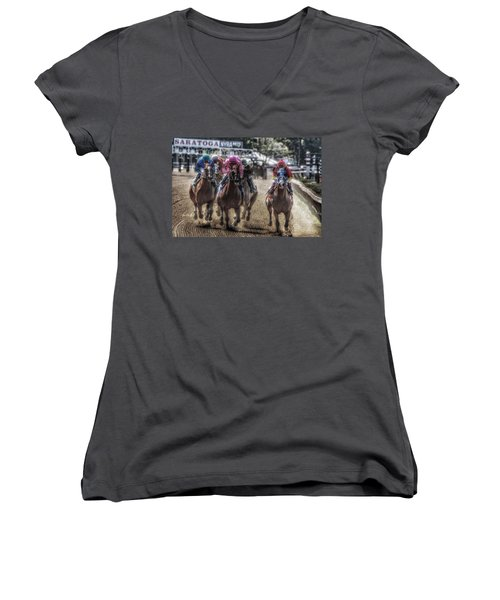 Just Starting Women's V-Neck (Athletic Fit)