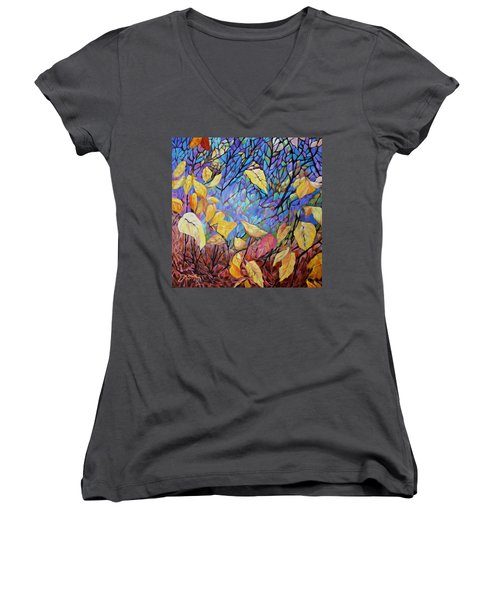 Kaleidescope Women's V-Neck