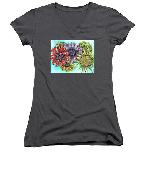 Kaleidoscope Women's V-Neck
