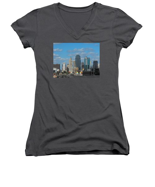 Kc Is Booming Women's V-Neck