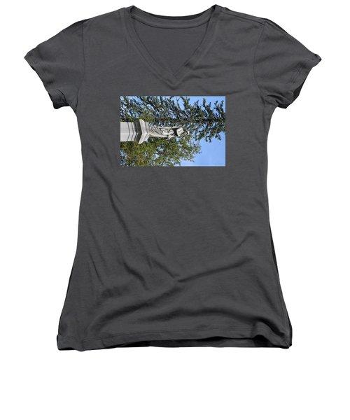 Keeping Watch Women's V-Neck T-Shirt