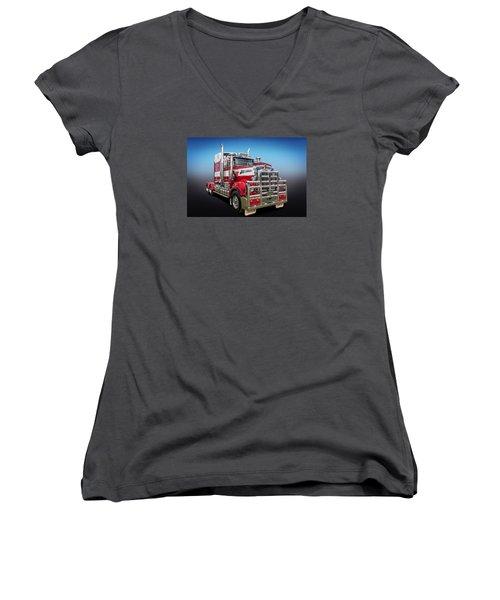 Kenworth Women's V-Neck T-Shirt