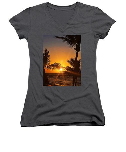 Key Art Women's V-Neck T-Shirt (Junior Cut) by JAMART Photography