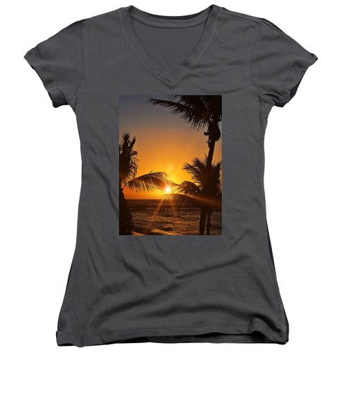 Key Art Women's V-Neck T-Shirt (Junior Cut)