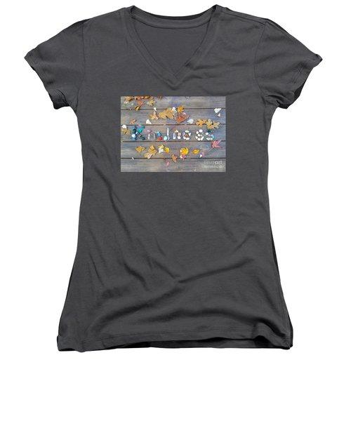 Kindness Women's V-Neck T-Shirt