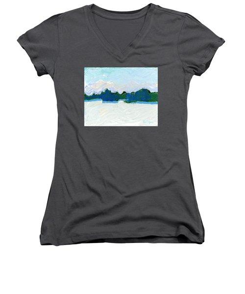 Knife Lake Women's V-Neck T-Shirt