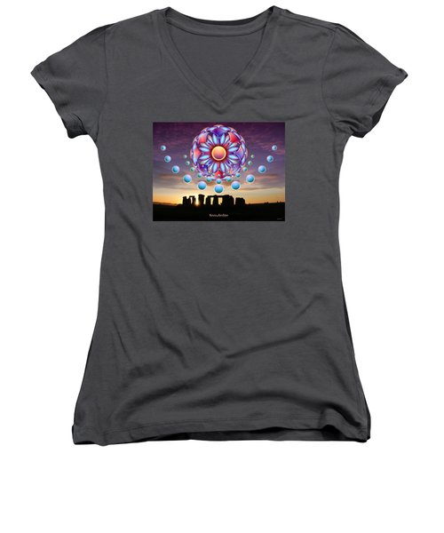 Knowledge Women's V-Neck T-Shirt