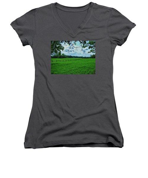 Knox Farm 1786 Women's V-Neck T-Shirt