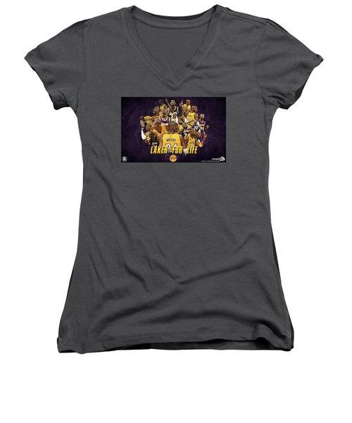 Kobe Bryant Women's V-Neck (Athletic Fit)