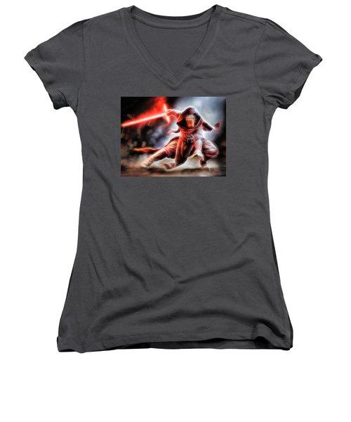 Kylo Ren I Will Fulfill Our Destiny Women's V-Neck