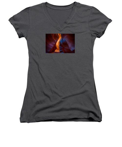 The Corridor Women's V-Neck T-Shirt