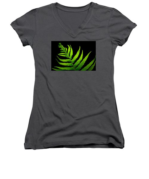 Lady Green Women's V-Neck (Athletic Fit)
