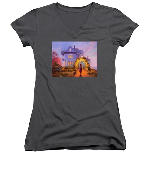 Lady In Waiting Women's V-Neck