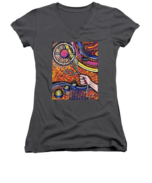 Lady Women's V-Neck T-Shirt