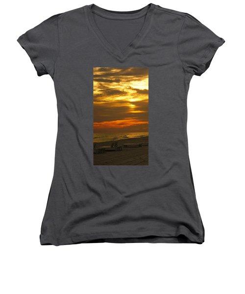Laguna Beach Women's V-Neck T-Shirt