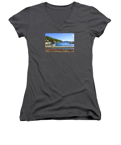 Lake Coeur D'alene Women's V-Neck