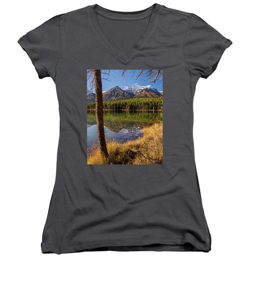 Lake Herbert Reflections Women's V-Neck