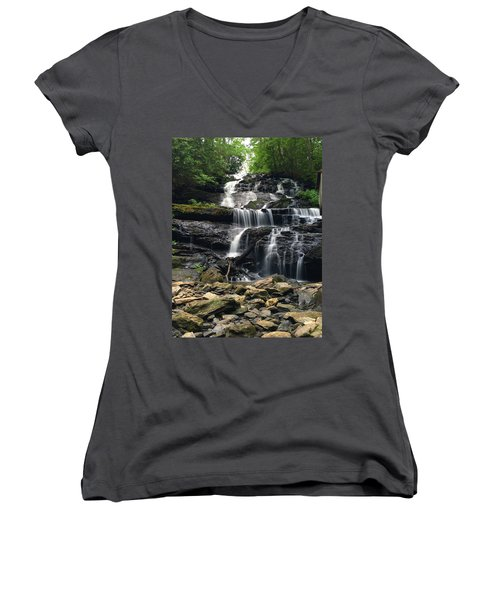 Lake Trahlyta Falls Women's V-Neck