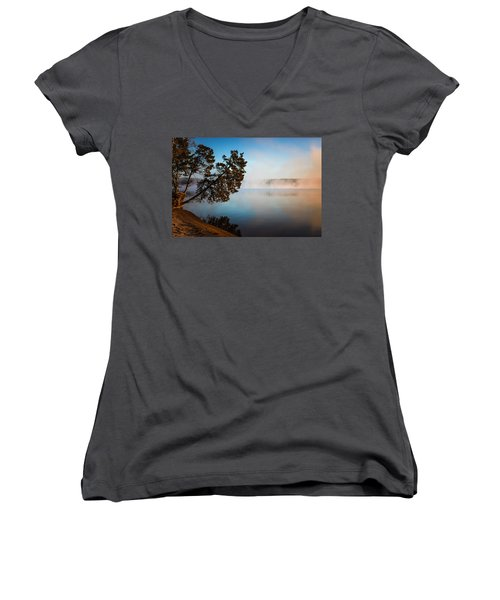 Lake Wateree Women's V-Neck (Athletic Fit)