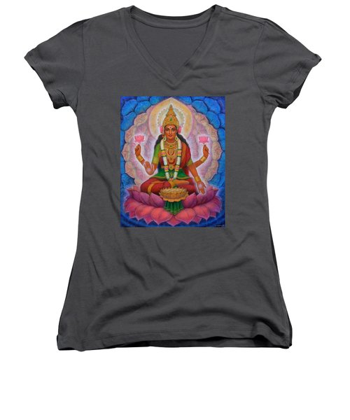 Lakshmi Blessing Women's V-Neck (Athletic Fit)